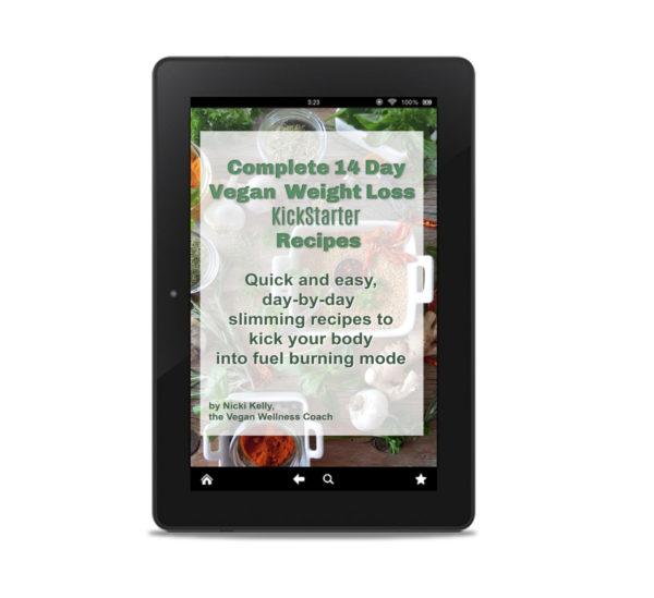 KickStarter Cookbook - Vegan Wellness Coach